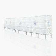 ブリーズスクリーン/トイレ仮囲い/プラスチックフェンス